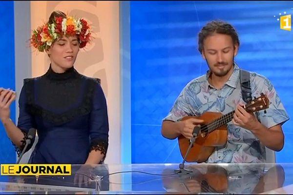 Le duo Vaiteani  Innovant folk polynésien