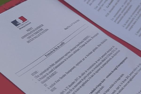 protocole fin de grève FO enseignement 17 fevrier 2018