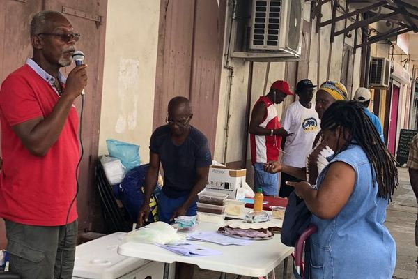L'association Le Germe au marché de Cayenne