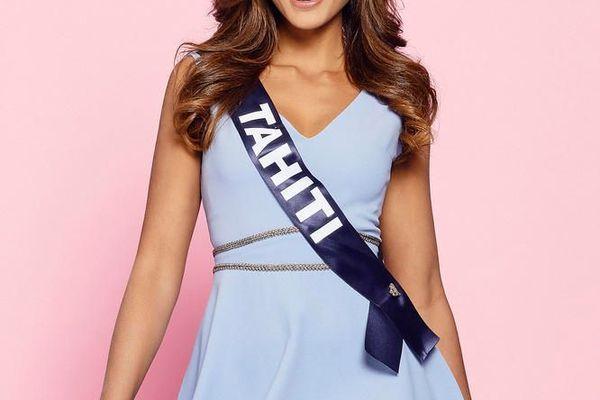 Vaimalama Chaves, 23 ans, Miss Tahiti