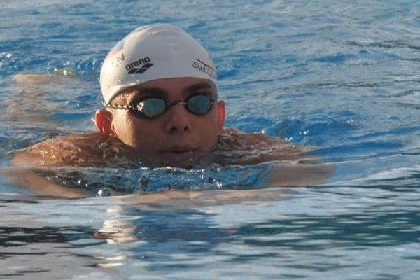JIOI 2019 entrainement sélection reunion natation piscine Chaudron Corentin Trinez 040719