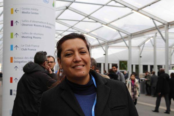 Maina Sage, députée de la Polynésie française