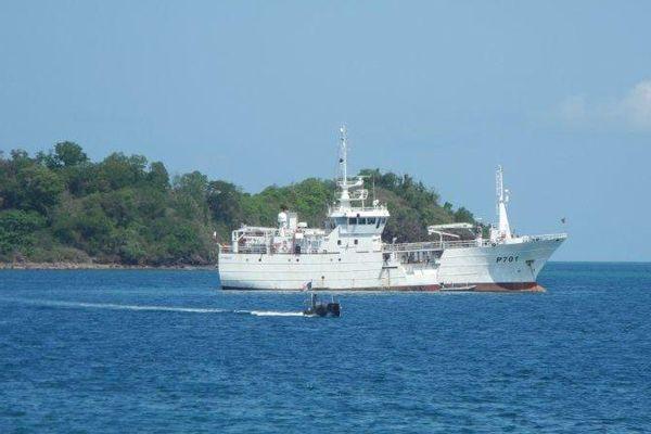 Le Malin, le patrouilleur de la marine nationale