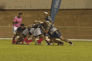 Les bleus remportent la finale cup / rugby 7