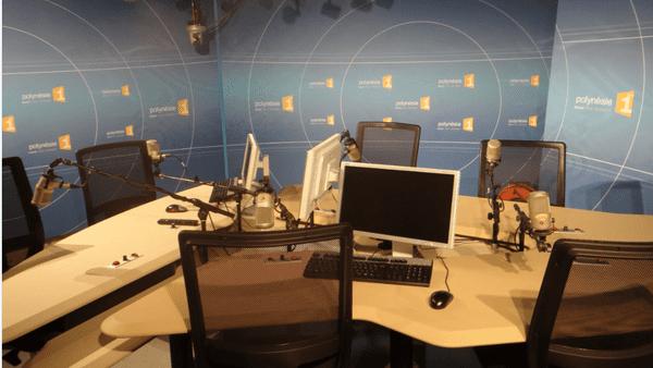 Les nouveaux studios radio de Polynésie 1ère