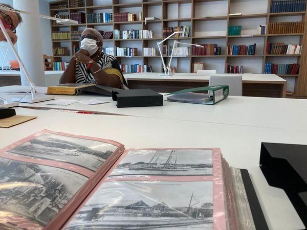 La salle de lecture déjà investie par les chercheurs et les enseignants