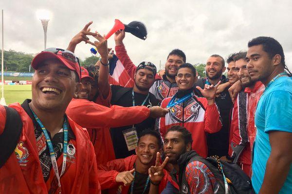 8 médailles pour Wallis et Futuna, les deux dernières, en or et en bronze ont été remportées par Selevasio VALAO et Sililo KIVALU