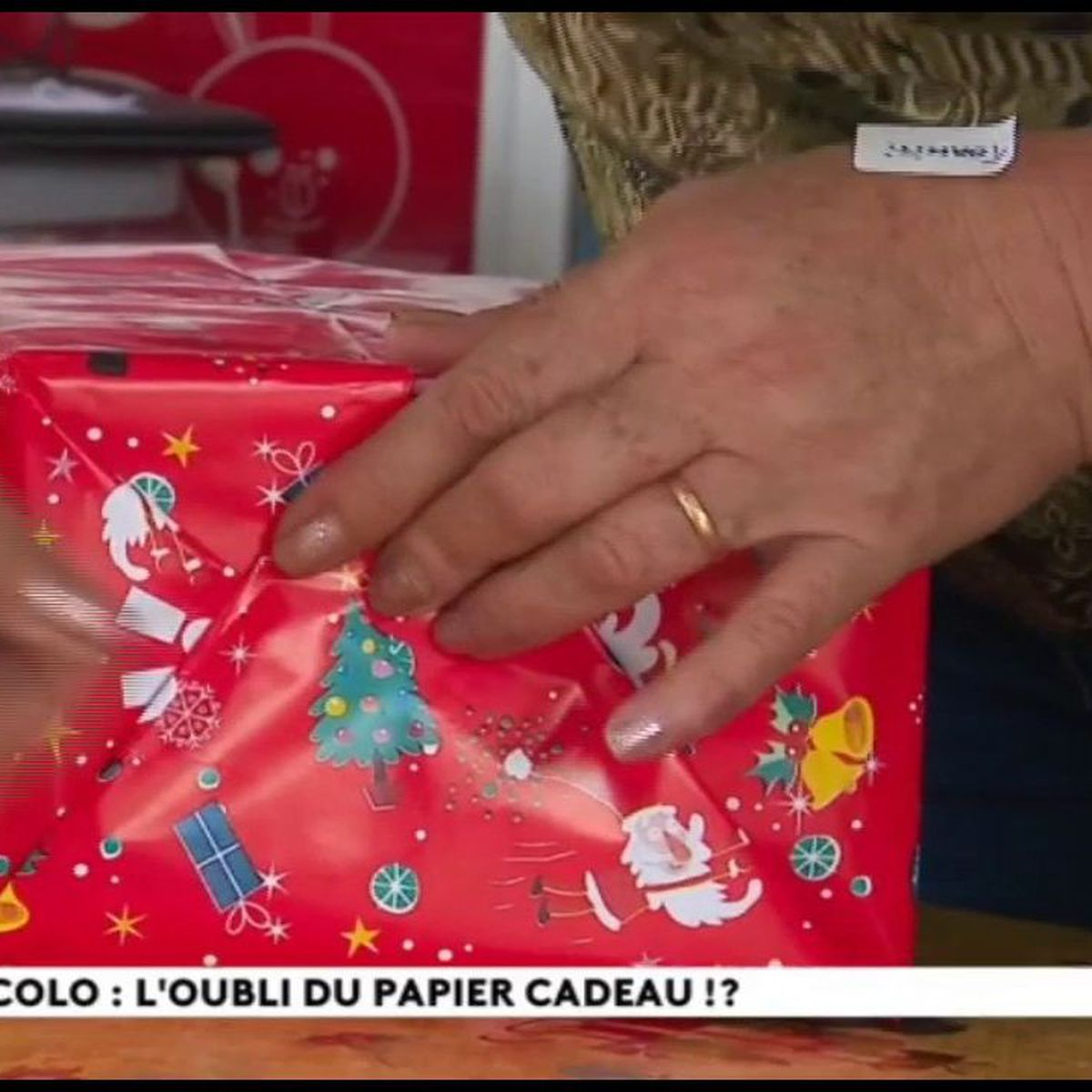Noël écolo : des cadeaux sans papier ?
