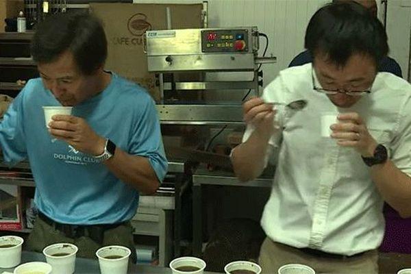Goûter de café