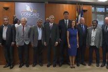 Les nouveaux membres du gouvernement calédonien