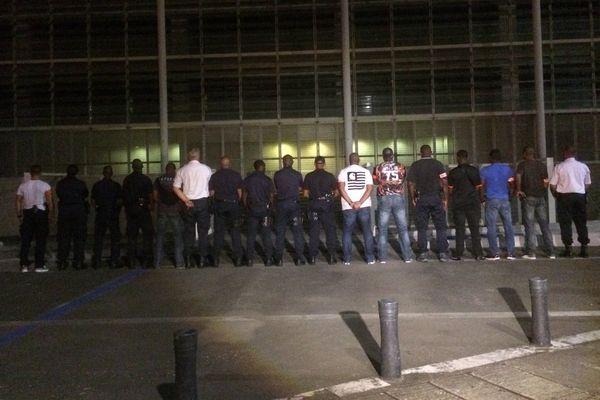 Manifestation des policiers
