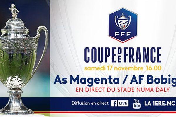 Coupe de france AS Magenta / AF Bobigny