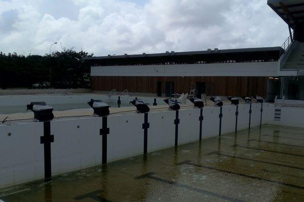 Deux bassins pour le stade nautique de Cayenne