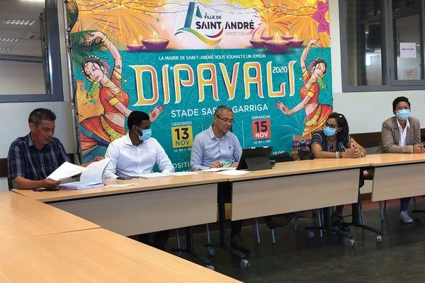 Conférence de presse Dipavali 2020 Saint-André