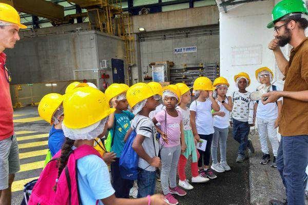 Visite du barrage de Petit Saut