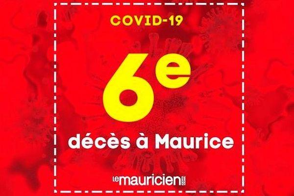 sixième décès à Maurice 2 avril 2020
