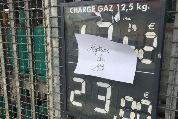 Pénurie de gaz dans l'Estaa