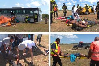 Crash fictif à Maré, 8 octobre