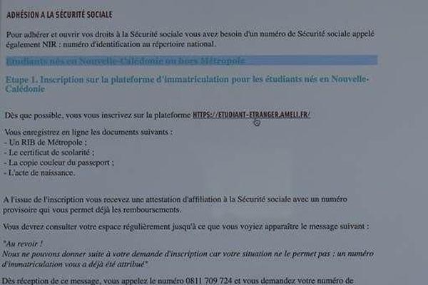 Démarches pour une couverture sociale en France