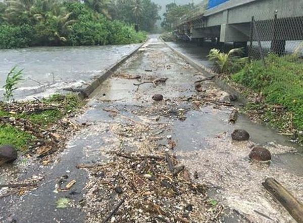 Pont Kokingone Cyclone Cook (10 avril 2017)