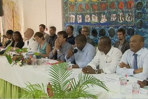 Réunions ministres élus à Petit Bourg
