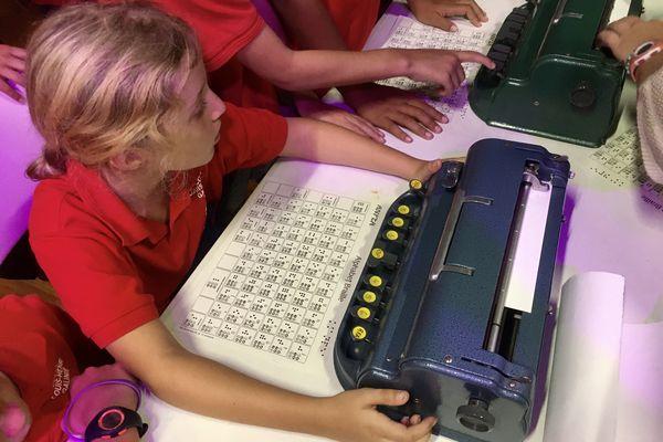 activité braille