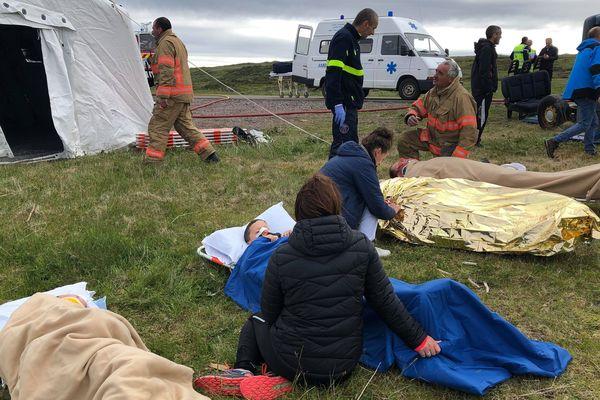 Exercice de sécurité civil Miquelon
