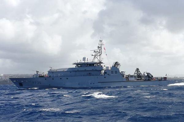 La Combattante rejoint la flotte de la Marine nationale à Fort-de-France