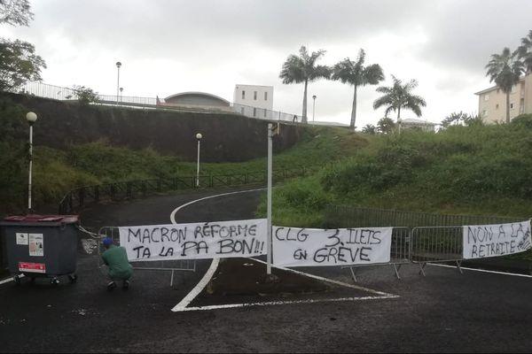Grève éducation nationale Trois Îlets