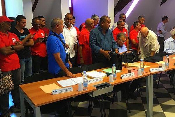Les syndicats reçus par le conseil de surveillance du CHU