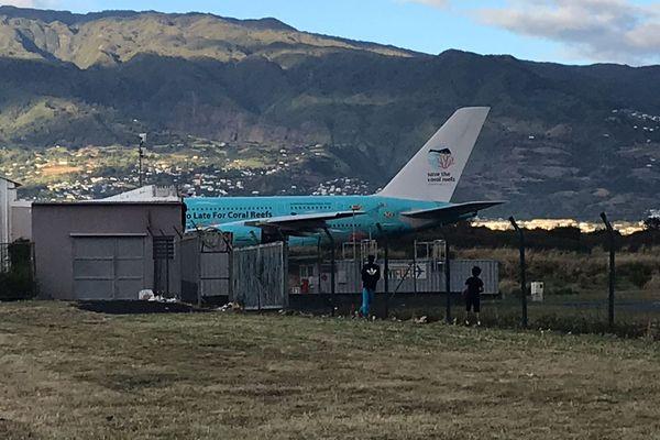 Arrivée A380 Hifly
