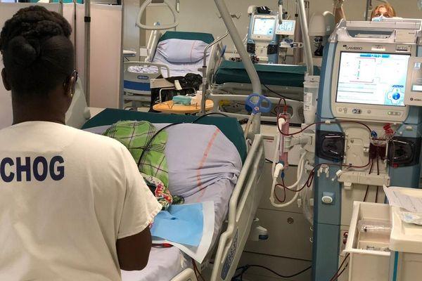Ouverture d'un service de dialyse au CHOG de St.Laurent