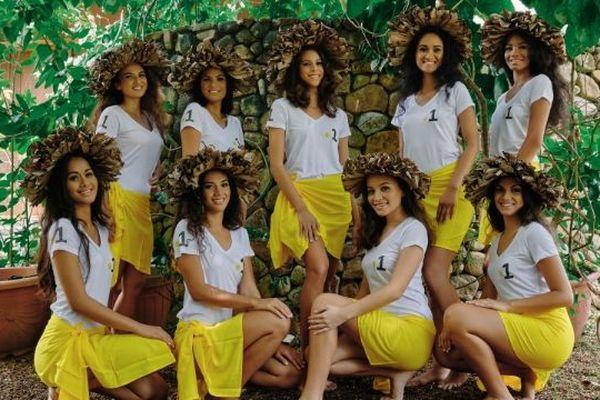 Miss Tahiti 2019 : les visages des 9 candidates dévoilés !