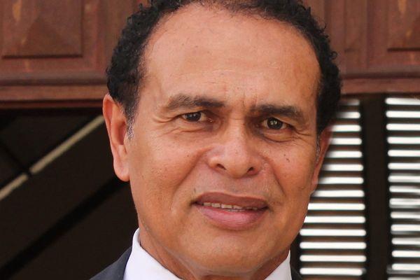 Léon Bertrand, maire de Saint Laurent du Maroni