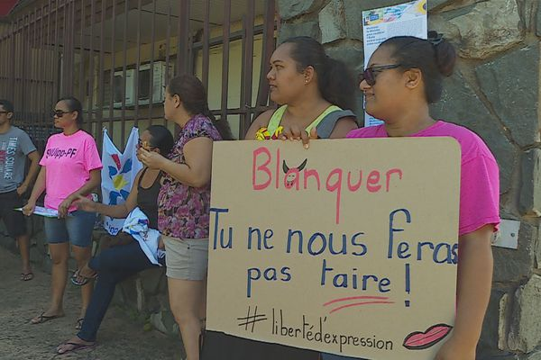 Manifestation professeurs