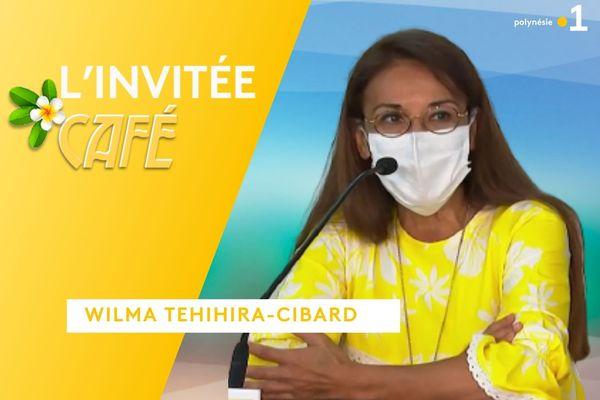 L'invitée café : Wilma Tehihira-Cibard - 09/09/2021