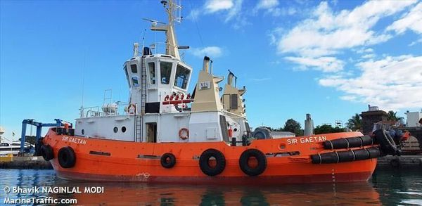 Naufrage bateau au large de Maurice