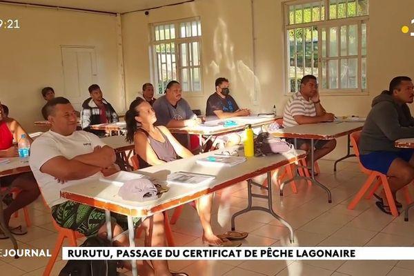 Formation de pilotes et pêcheurs professionnels à Rurutu