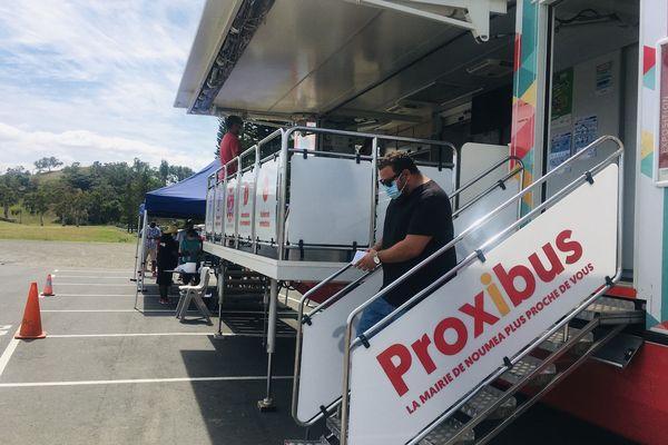 Covid-19 : le Proxibus pour faciliter l'accès au pass sanitaire