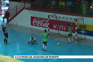 Futsal féminin : Papeete s'impose face à Taha'a