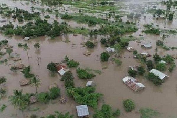 Inondation au Zimbabwe