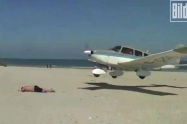 avion plage allemagne