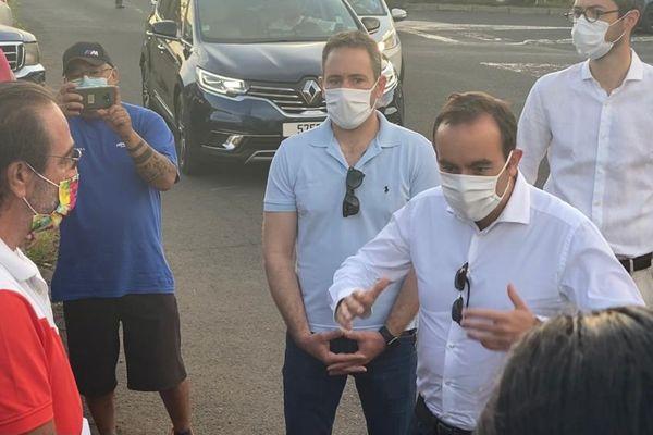 le ministre rencontre grévistes Sabena