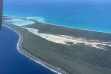 Le pêcheur a été mordu dans les îlots du Sud de l'atoll d'Ouvéa.