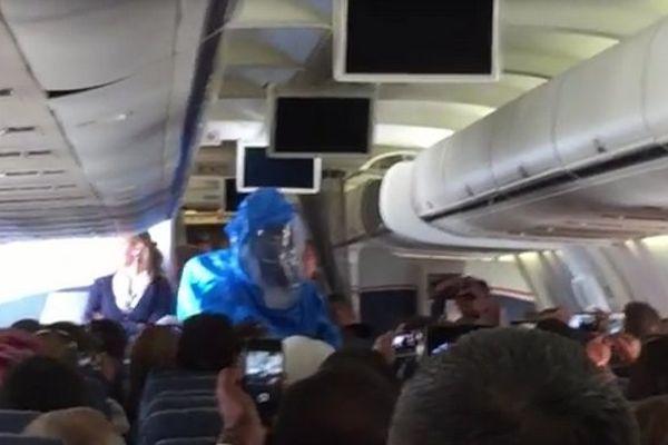 VIDEO : la blague qu'il fallait éviter en avion
