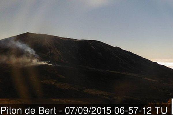 Eruption Fournaise Septembre 2015