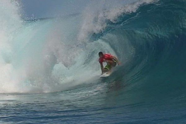 Michel Bourez, 4ème jour de compétition, Billabong Pro Tahiti
