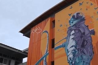 Street art Kourou