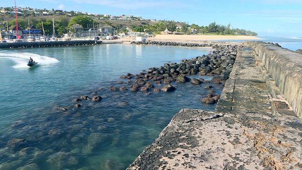 Port St-Gilles digue