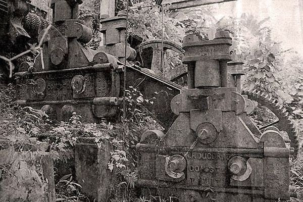 ancienne rhumerie Atimaono